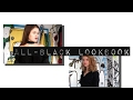 all-black lookbook // BETWEEN19