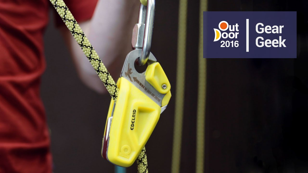 Edelrid OHM Belay Device | Outdoor 2016