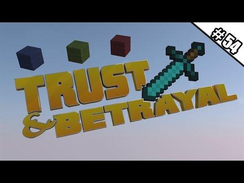 MINECRAFT TRUST AND BETRAYAL #54 - 3 Startrampen für Uns ★ Let's Play Minecraft