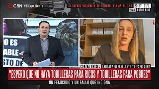 Entre Ríos: Un femicidio y un fallo que indigna. Habla la abogada querellante