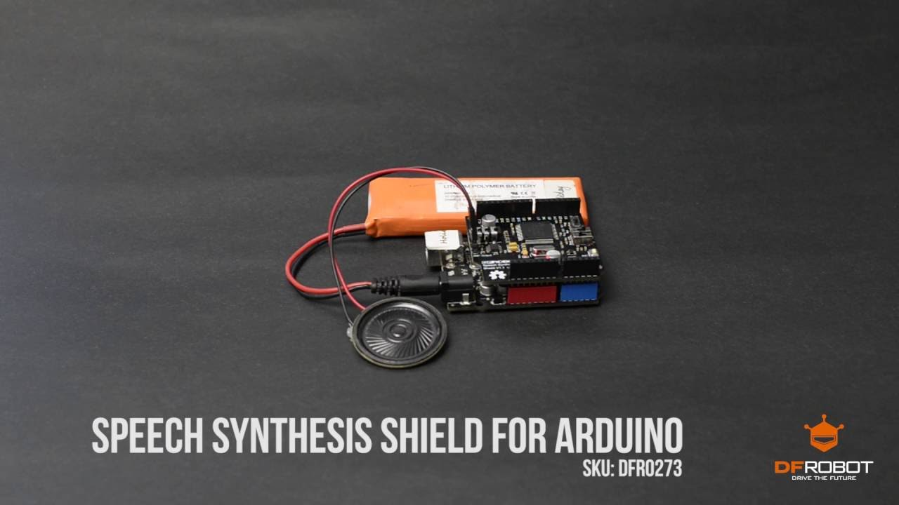 Speech Synthesis Shield for Arduino Demo (DFR0273)