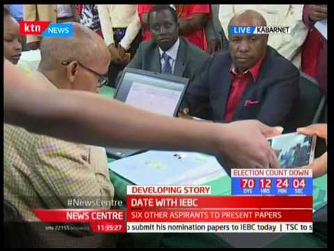 Senator Gideon Moi cleared by IEBC to defend his seat
