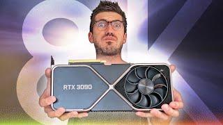 Die RTX 3090 kann ALLES... aber was? - 8K Spezial!
