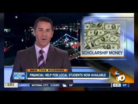 10 News Covers The San Diego Foundation's Available Scholarships