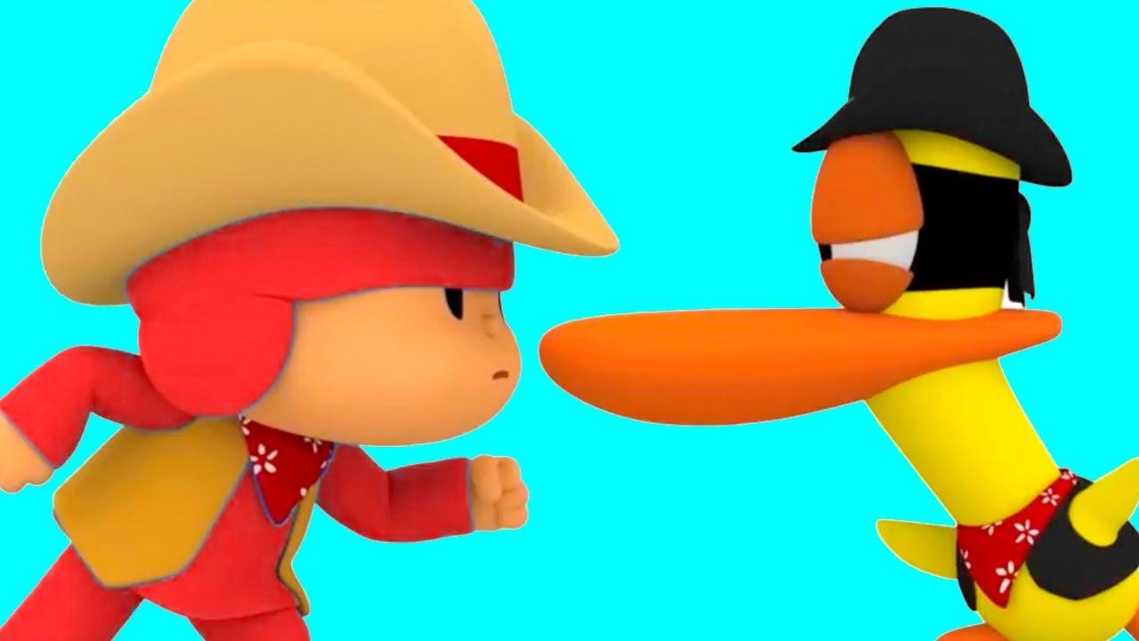 Pocoyo en Español 2021 | la Pelea de los Vaqueros | Caricaturas para Niños