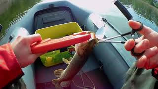 Колебалка На Щуку Эта Блесна ловит ВСЕГДА Рыбалка На Щуку С Лодки Ловля Щуки Весной 2020