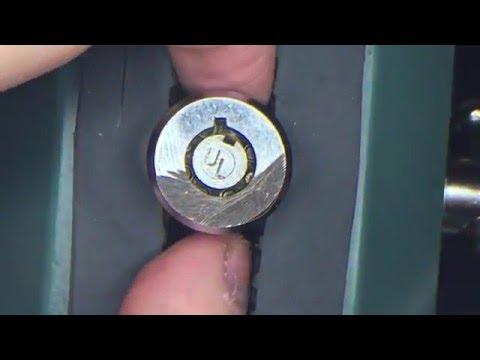 [85] 11 Pin (Pin-in-Pin) Tubular Lock Picked