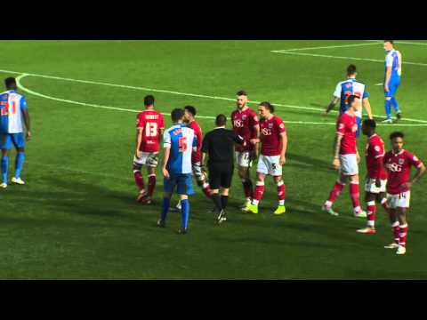 Highlights: Bristol City 0 Blackburn Rovers 2