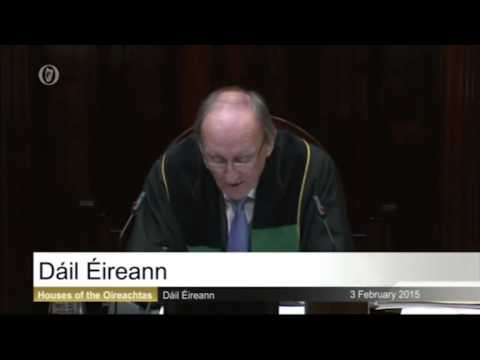VIDEO: Ceann Comhairle ends row which could have forced him to quit new
