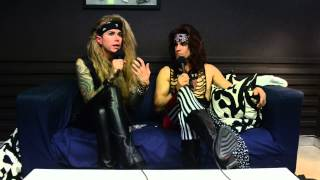 Steel Panther: Lexxi Foxx and Satchel on the Secret to Great Hair.