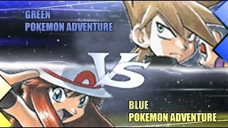 Pokemon Omega Ruby & Alpha Sapphire [ORAS] WiFi Battle: Green Vs Blue (Pokemon Adventures)
