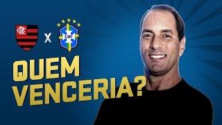 EDMUNDO DIZ QUE FLAMENGO VENCERIA SELEÇÃO BRASILEIRA ATUAL