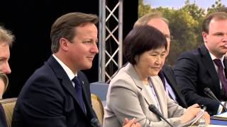 G8 Summit: Prime Minister highlights