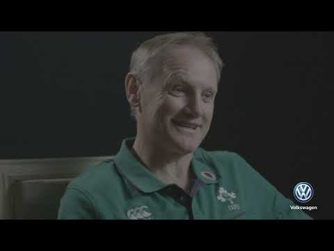 Joe Schmidt Interview  | Volkswagen Road to Rugby