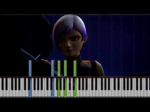 Sabine's Catharsis (Star Wars Rebels) | Piano Cover + Sheet Music