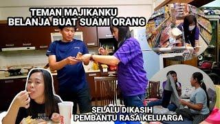 PUAS BANGET...!! SEHARI BARENG TEMAN MAJIKAN'KU
