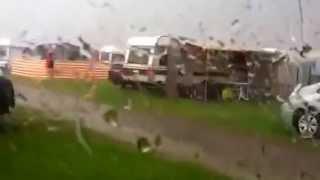 Gewitter überm Campingplatz