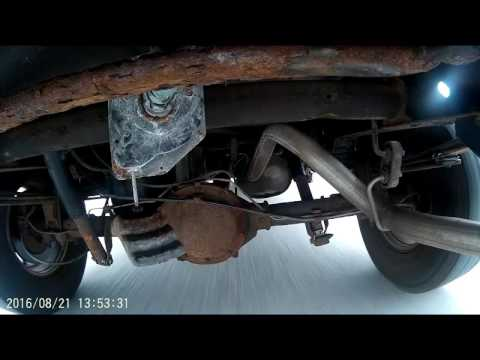 Rattle noise when truck goes over bumps 2001 Silverado 1500 **SOLVED* Ebrake causes noise