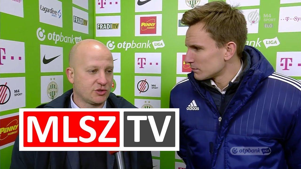 Marko Nikolics edzői értékelése a Ferencvárosi TC - Videoton FC mérkőzésen