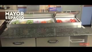 Torrey| Refrigeración| Pizza Preparation Table