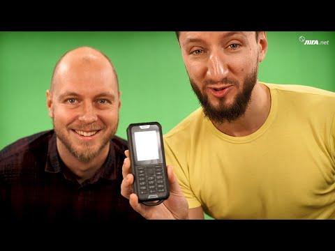 Nokia 800 - видеообзор и безжалостный краш-тест защищенного телефона