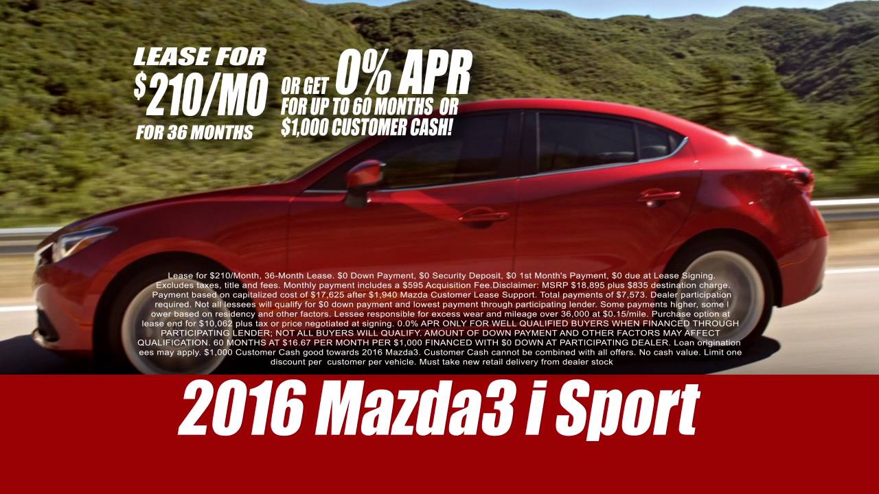 Russell And Smith Mazda >> Russell Smith Mazda 2016 Mazda3 I Sport May 2016 Youtube
