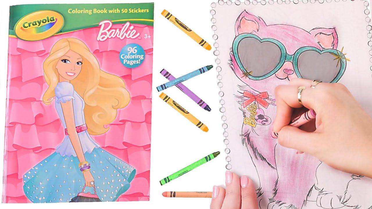Barbie Libro Para Colorear ✎ Coloreo Rapido en DCTC ✎ Crayones ...