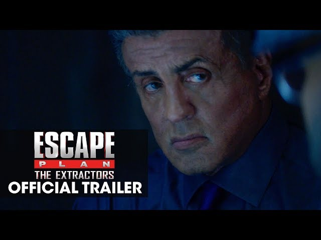 Escape Plan: The Extractors (2019) Official Red Band Trailer