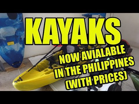 Kayaks, Prices In The Philippines.