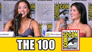 THE 100 SEASON 4 Comic Con Panel Highlights (Pt1) - Eliza Taylor, Marie Avgeropoulos, Lindsey Morgan