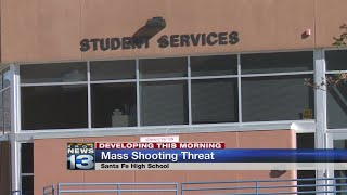 Police arrest 3 Santa Fe High students over school shooting threat