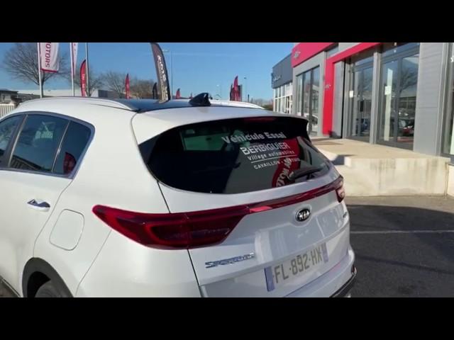 Lucas vous présente le Kia Sportage 1L6 136Ch Finition GT-Line
