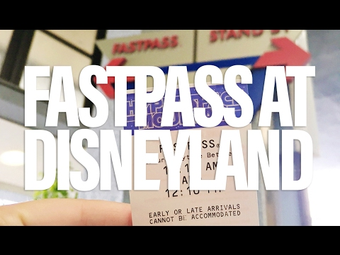 Disneyland FastPass Tips and Hacks