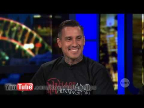 Carey Hart interview on The Project (2013)
