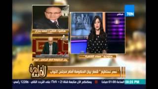 النائب أحمد بدران بيان الحكومة ينقصه تحديد زمني  وعلى الحكومة البحث عن مخصصات مالية