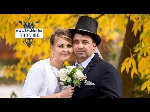 Anikó és József esküvője Nyíregyházán, a Tirpák csárdában