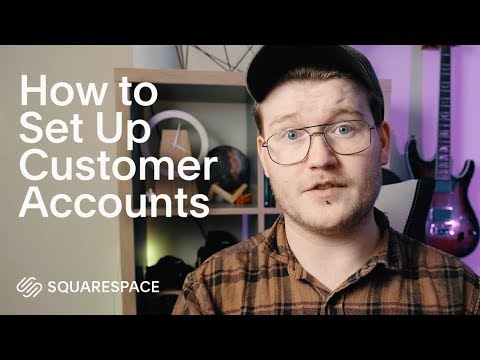 How to Set Up Customer Accounts | Squarespace Tutorial (ft. Will Paterson) thumbnail