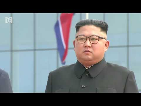Kim Jong Un welcomes South Korea's President to Pyongyang