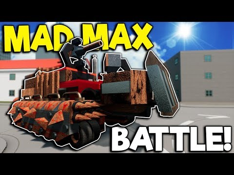 MAD MAX BUILD & BATTLE! - Brick Rigs Multiplayer - Lego Apocalypse Battle