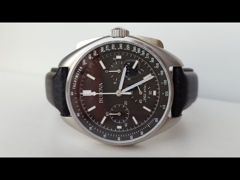 Лунный спец выпуск. Bulova 96B251 Special Edition Moon Chronograph Watch