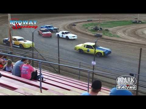 LEBANON MIDWAY SPEEDWAY - PURE STOCKS - HEAT RACE -   7/6/18