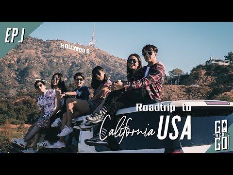ตะลุยอเมริกา hollywood, disney land , Universal studio , santamonica | USA EP.1 | Go Went Go