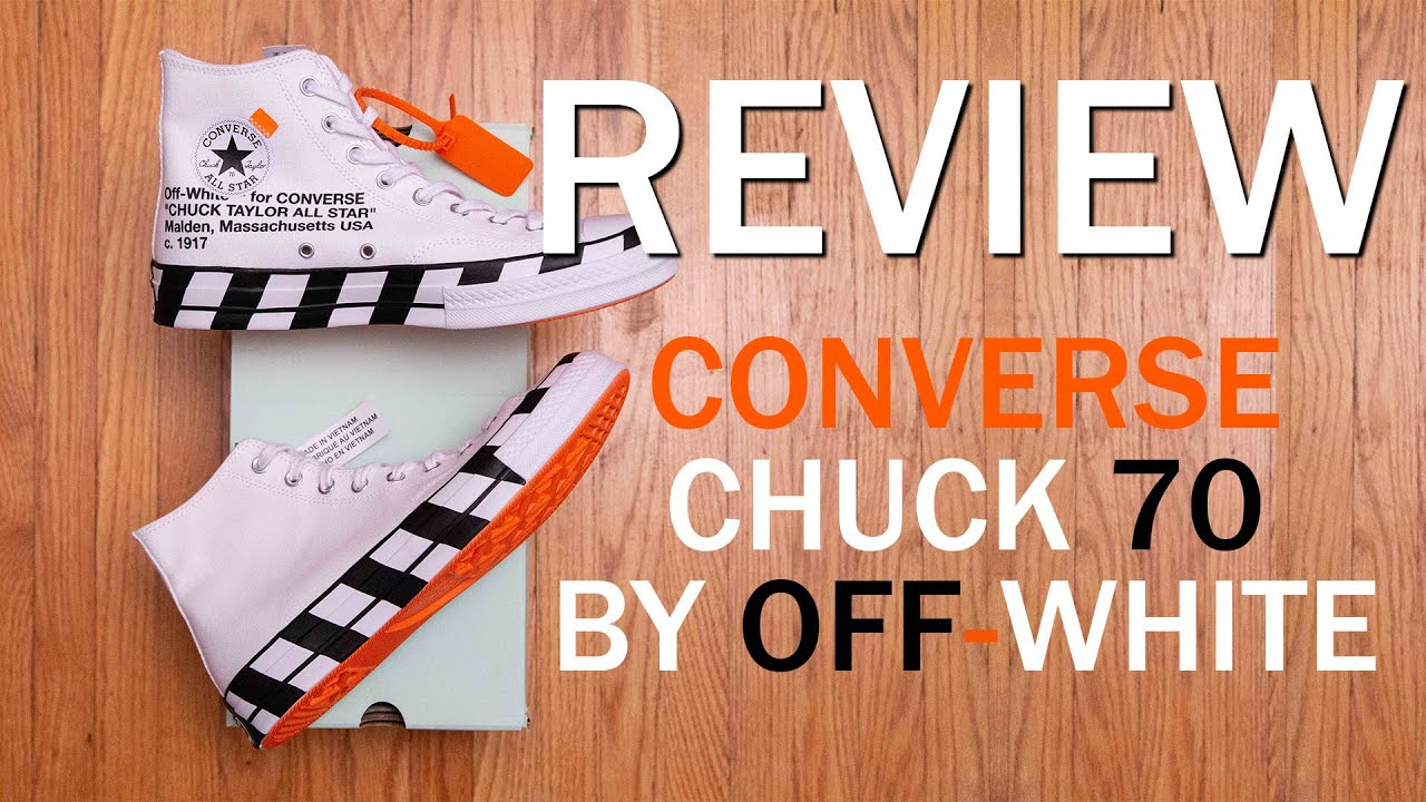 The LEAST HYPED Virgil Design?    The 10: Converse Chuck 70 Hi by Off White Review and On Feet