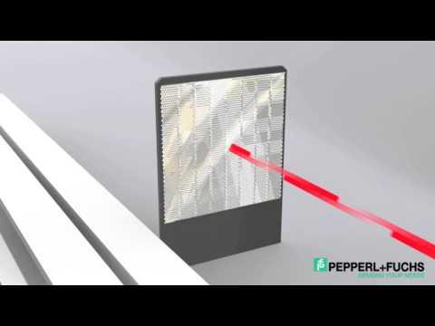 Long-range Laser Sensor Distance Measurement
