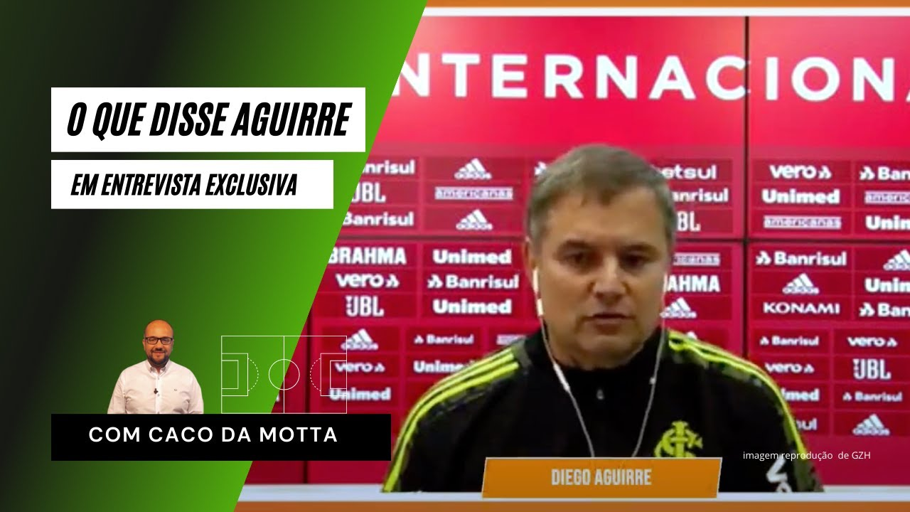 Diego Aguirre descarta Inter com três zagueiros
