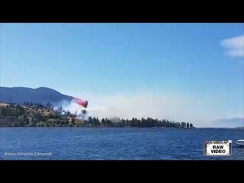 Wildfire in Kaleden