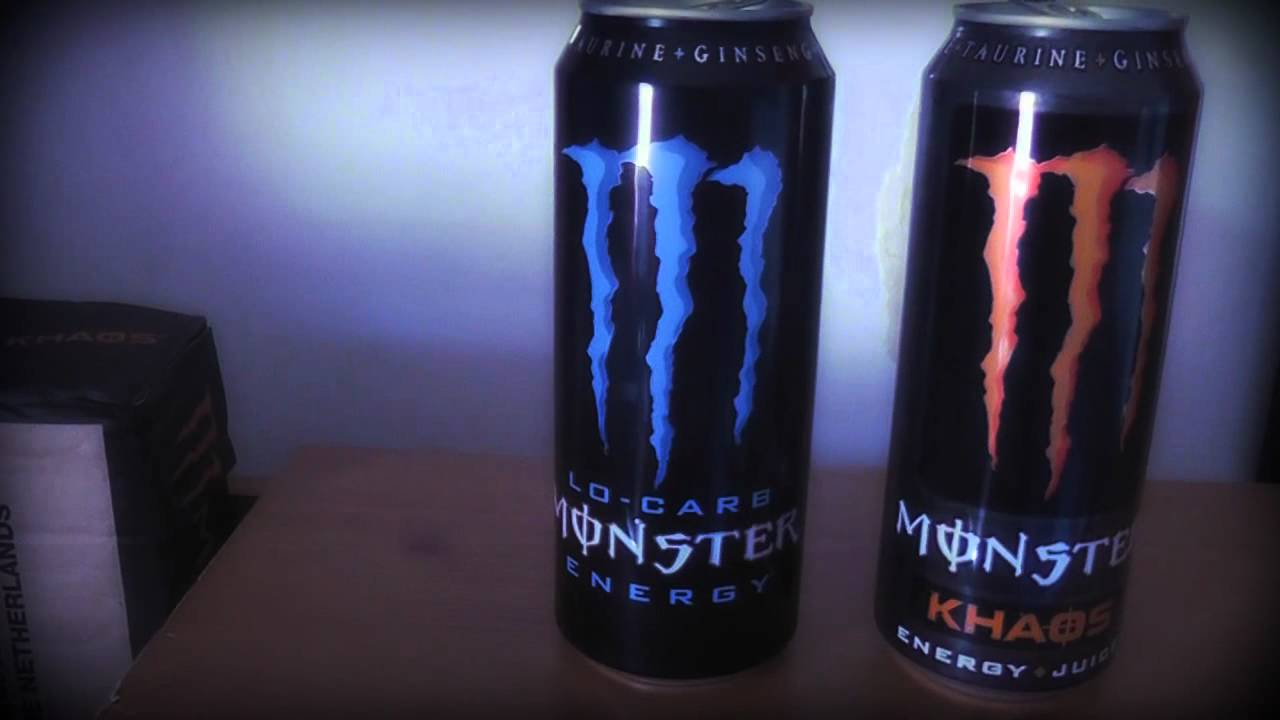 Collection Update 2 Monster Energy Khaos And Lo Carb