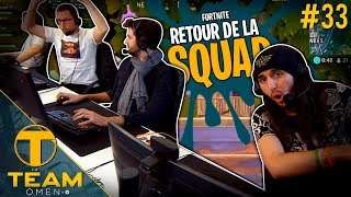 Le retour de La Team au complet sur Fortnite Battle Royale !