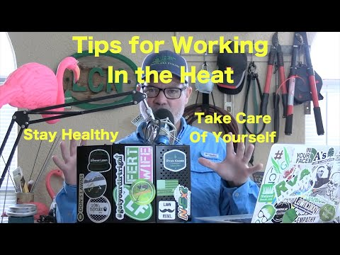 Tips For Staying Cool in Hot Weather | Preparing for Work In Hot Conditions