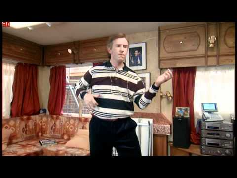 The Alan Partridge Air Bass Dance
